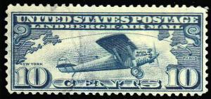 United States Scott C10 Used.