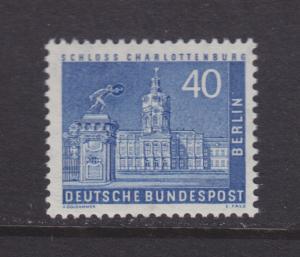 Berlin Sc 9N131 MNH. 1947 40pf light ultra, almost VF