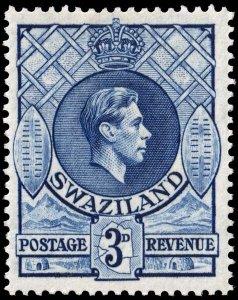 Swaziland - Scott 31 - Mint-Never-Hinged - Perf 13.5 x 14