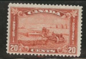 CANADA Scott 175 MH* 1930 20c Wheat Harvestin stamp CV$42.50
