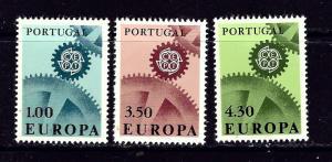 Portugal 994-96 MLH 1967 Europa