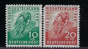 Germany AM Post Scott # B304 - B305, mint hr