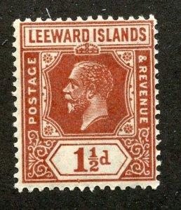 Leeward Islands, Scott #66, Mint, Never Hinged