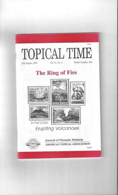 Topical Time Magazine JUL-AUG 2001  Number 308, ATA Journal