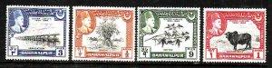 Pakistan-Bahawalpur-Sc#22-5-Unused hinged set-Silver Jubilee-1949-