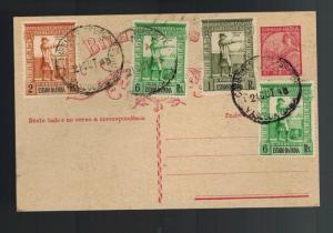 1943 Vascoa Portuguese India Postcard Cover