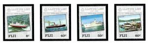 Fiji 509-12 MNH 1984 Lloyds List