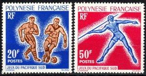 French Polynesia #203-4  MNH CV $25.00 (X2336)