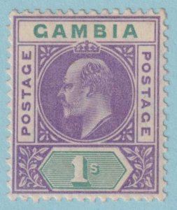 GAMBIA 58 MINT HINGED OG *  NO FAULTS EXTRA FINE