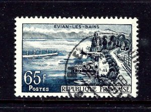 France 856 Used 1957 issue