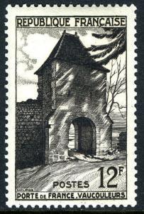 France 676, MNH. Gate of France, Vaucouleurs, 1952
