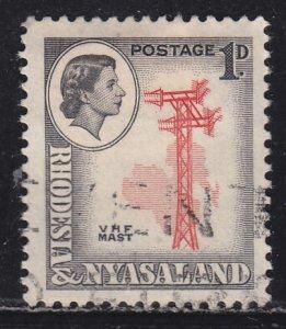 Rhodesia & Nyasaland 159 VHF Antenna Array 1959