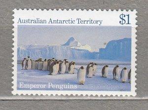 AAT 1984 Landscape Birds Penguins 1$ MNH(**) #HS275