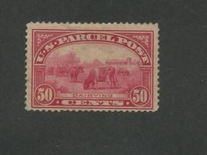 1913 United States Parcel Post Stamp #Q10 Mint F/VF Disturbed Partial OG