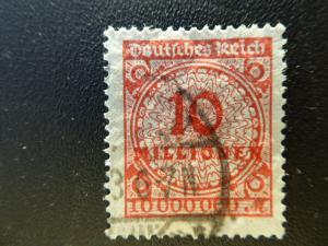 Germany 1923  Sc.#286  CV $1.50 used