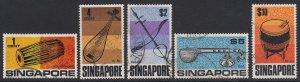 Singapore Sc 107-111, used