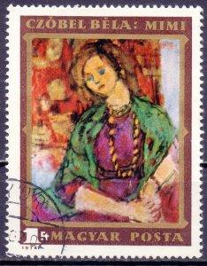 Hungary. 1974. 2977. Painting. USED.