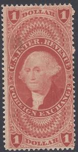 R68c $1.00 US Internal Revenue - Foreign Exchange 1862-71
