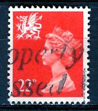 Great Britain, Region, Wales; 1990: Sc. # WMMH42: O/Used Single Stamp