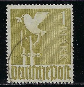 Germany AM Post Scott # 574, used