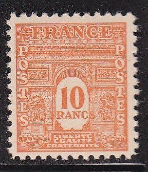 France 476 H VF-NH-OG scv $ 38 ! see pic !