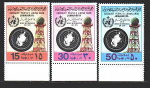 Libya. 1979. 724-26. International meteorology day. MNH.