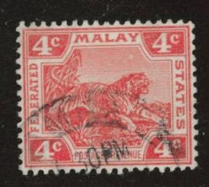 Malaya Scott 42 wmk 3 1906-1922 used