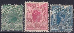 Brazil #159-61 F-VF  Unused CV $52.50  (Z7187)