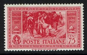 Italy SC# 285, Mint Never Hinged - Lot 012217