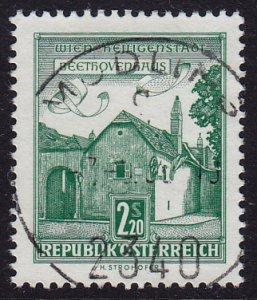 Austria - 1962 - Scott #697 - used - MÖDLING pmk