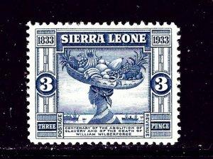 Sierra Leone 157 MH 1933 issue