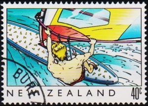 New Zealand. 1989 40c S.G.1524 Fine Used
