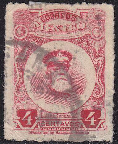 Mexico 612 Hinged Used 1917 Jesus Carranza