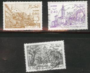 ALGERIA Scott 687-689 used stamp set 1982