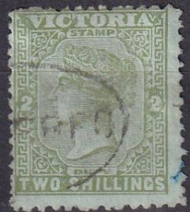 Victoria #154  F-VF Used CV $6.25 (A18509)