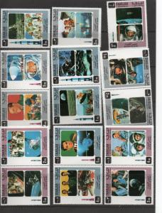 Sharjah History of Space MNH