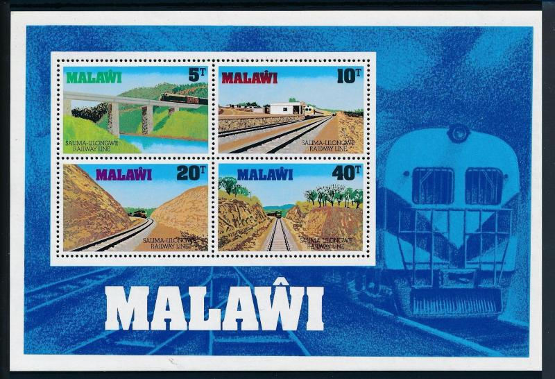 [50801] Malawi 1979 Railway Train Eisenbahn Chemin de Fer Sheet MNH