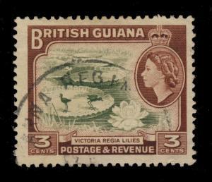 GUYANA / BRITISH GUIANA - ANNA REGINA CDS ON SG 333