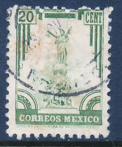 MEXICO 846 20c 1934 Definitive Wmk Gobierno...279 Used (928)