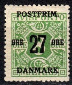Denmark #148  F-VF Unused CV $7.50 (X5369)