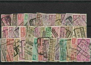 Belgium Railway Stamps ref R 18749