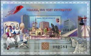 Albania 2020. The 100th Anniversary of Tirana as a Capital City (MNH OG) S/S