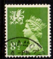 Wales - #WMMH11 Machin Queen Elizabeth II - Used