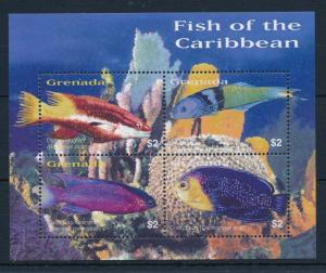 [32162] Grenada 2003 Marine Life Tropical Fish MNH Sheet