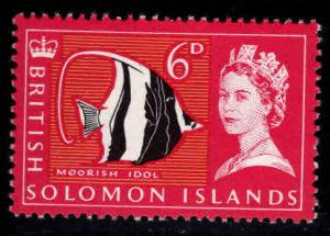 British Solomon Islands Scott 134 MH* stamp
