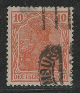 Germany Reich Scott # 119, used, Mi#141