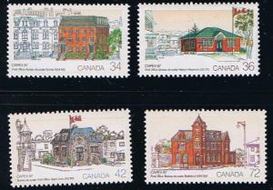 Canada Mint VF-NH #1122-1125 Capex 87 set