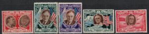 San Marino 1947 SC 257A-C251A MNH SCV $118.00