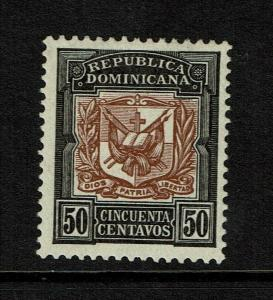 Dominican Republic SC# 139 Mint Light Hinged / Sm Hinge Rem / Gum Creasing-S7558