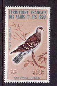 D3-Birds-Afars & Issas-Scott#C102-unused NH airmail set-Colu